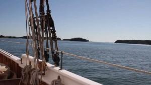 Sailing through the Islands of Maine